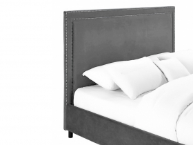 Headboard - Cygnus Grey Velvet Headboard