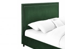 Headboard - Cygnus Emerald Green Velvet Headboard