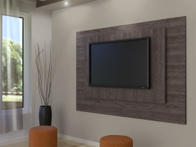 Floating TV Wall Unit - Gemini Aged Stone 1 Tone Double Back
