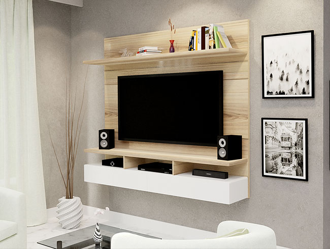 Floating TV Wall Unit - Vela