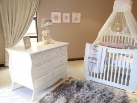 Baby Bedroom Set - Sofia (Free mattress included)
