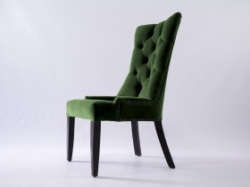 Dining Chair - Andrea Emerald Green Upholstered Velvet