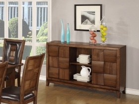 Milan Solid Wood Dining Room Sideboard
