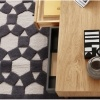 Myra Coffee Table Oak and Charcoal Grey