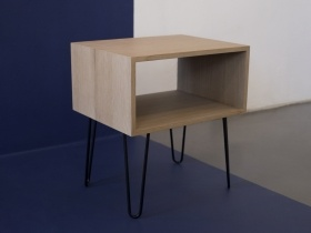 Side Table - Hairpin Leg