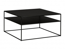 Hill Coffee Table - Blackened Powder Coated