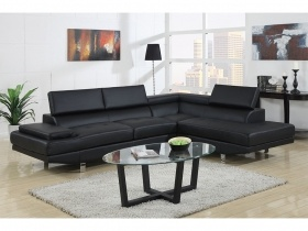 Seville Corner Lounge Suite - Ink Black