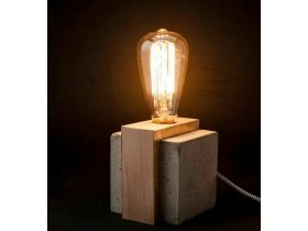 Light - Rustic table lamp