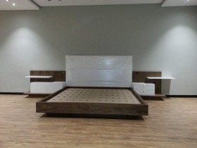 Headboard - Bedroom Suite With Bed Pedestals