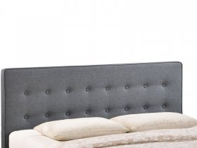 Headboard - Modern Grey Bed