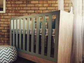Noon - Modern Baby Cot