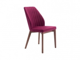 Dining Chair - Red Velvet Dining Chair