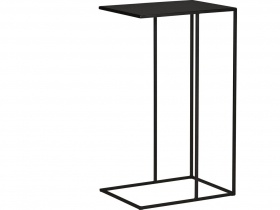 Hill Side Table - Blackened Powder Coated